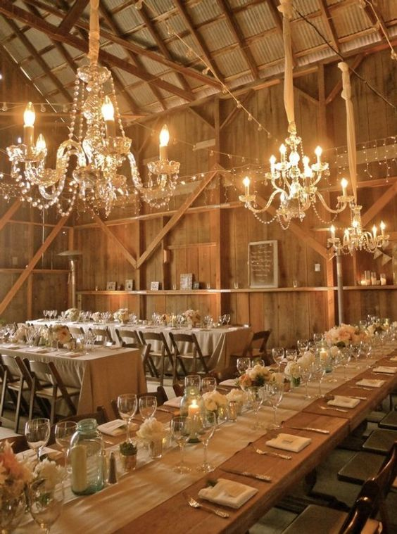 Rustic elegant barn wedding in Santa Barbara by Joy de Vivre + Mark Brooke Photographers. Isn't it a dream come true?