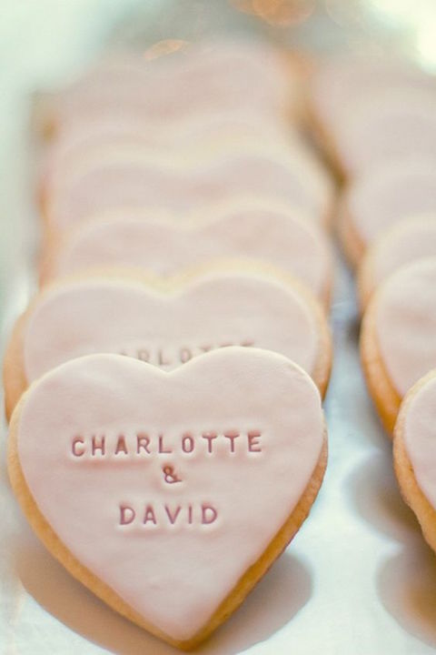 A tasty and noteworthy wedding favor idea.