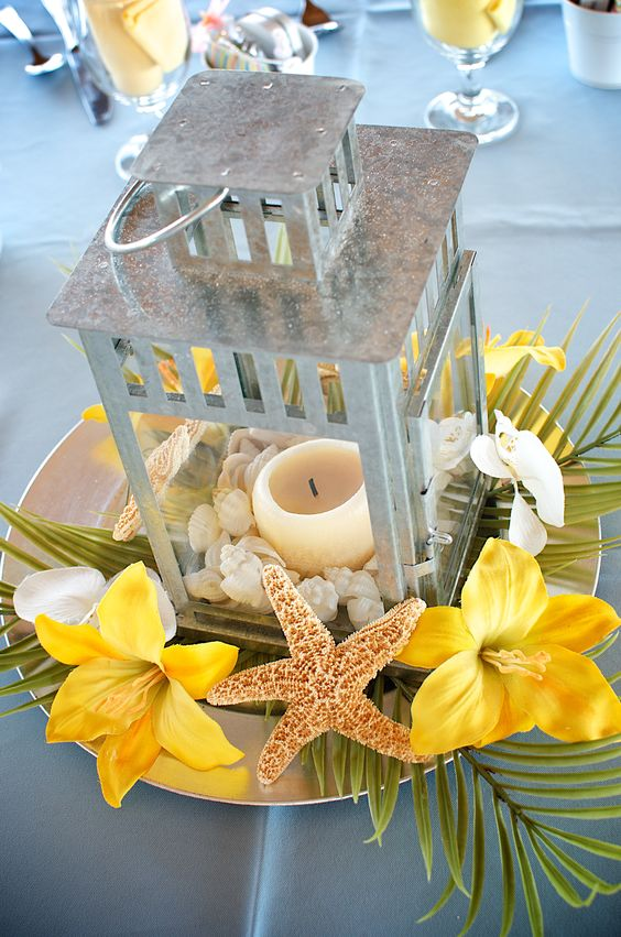beach themed wedding decorations affordable wedding centerpieces original ideas tips amp diys 1558