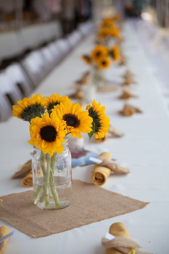 Chic country rustic wedding tablescapes.