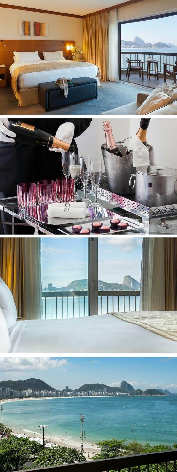 Este lujoso hotel de Río de Janeiro se encuentra en uno de los lugares más bellos del mundo. Con la fabulosa playa de Ipanema en un lado y la maravillosa Copacabana por el otro, el Sofitel Rio de Janeiro es uno de los pocos hoteles que tienen terrazas en todas sus 388 habitaciones!!