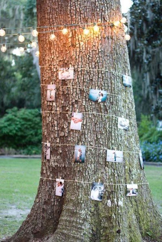 A unique way to memorialize those we love at our wedding.