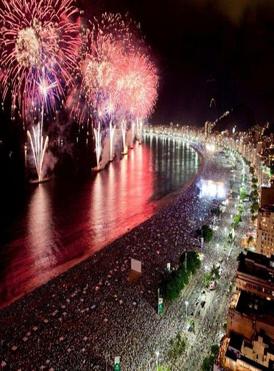 Año nuevo en Río de Janeiro.