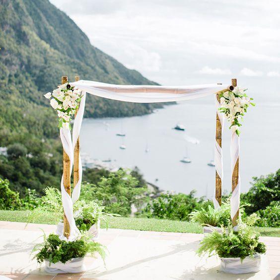 Como hacer un arco de flores para boda paso a paso 7 for Arco decorativo jardin