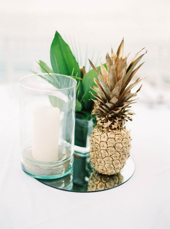 What could be better than the ultimate boho chic beach wedding centerpiece?