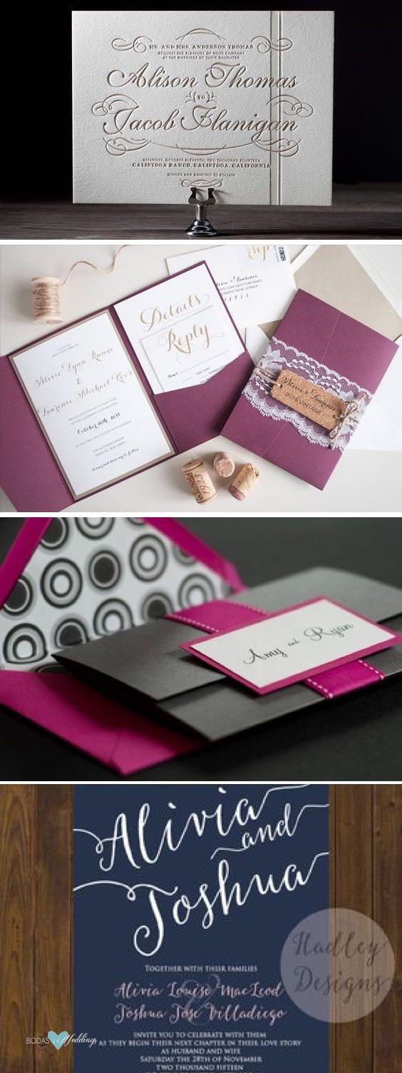 Como Elegir El Color De Las Invitaciones Para Bodas La