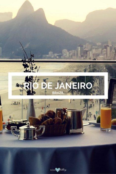 Luna de miel en Río de Janeiro, un paraíso tropical