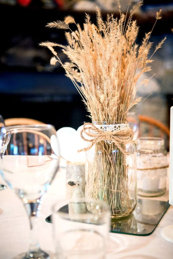 Affordable wedding centerpieces original ideas tips diys banff wedding at baker creek from kim payant photography junglespirit Images