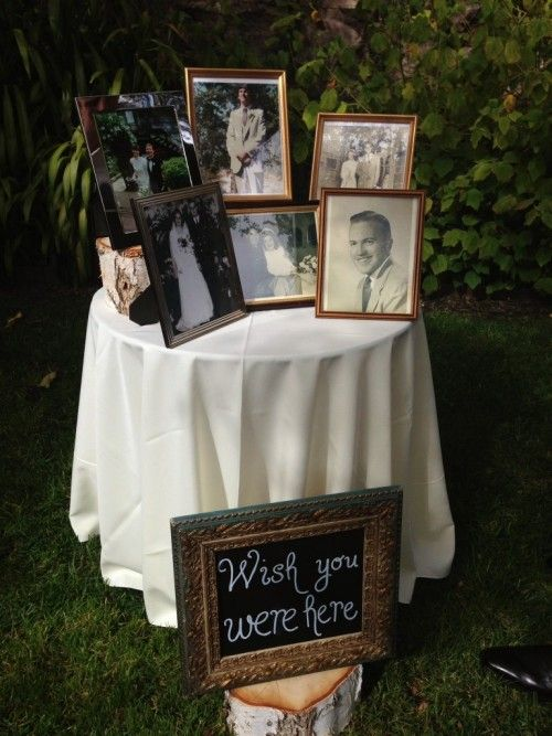 Touching and graceful ways to remember lost loved ones at your wedding.