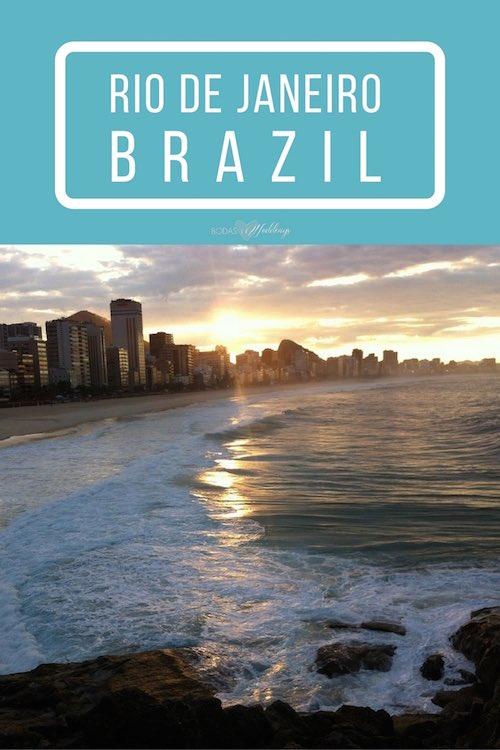 Luna de miel en Río de Janeiro. Imagínate aquí, en Copacabana.