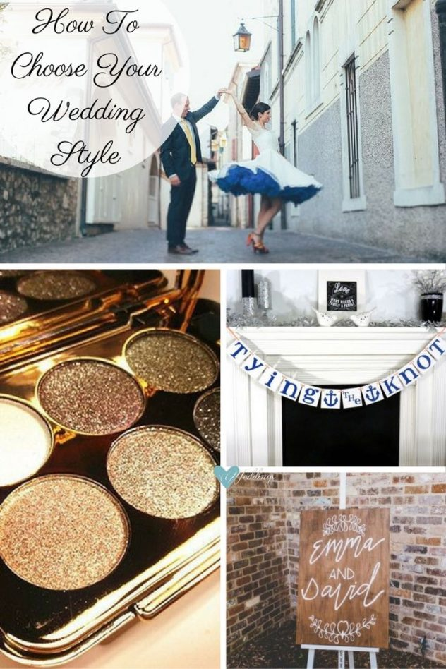 How to choose your wedding style: Think about your hobbies, what makes you unique, what you like and how you dress. A ceremony in both Italy and Belgium | If your makeup case has a gold colored palette, why not go for a gold wedding? | Tying The Knot Banner by Banner Cheer | Bohemian Chic Country wedding at Mali Brae captured by Holly Prins
