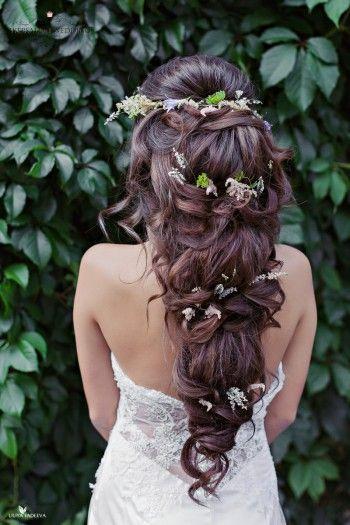 Inspiracion para peinados de novia boho.