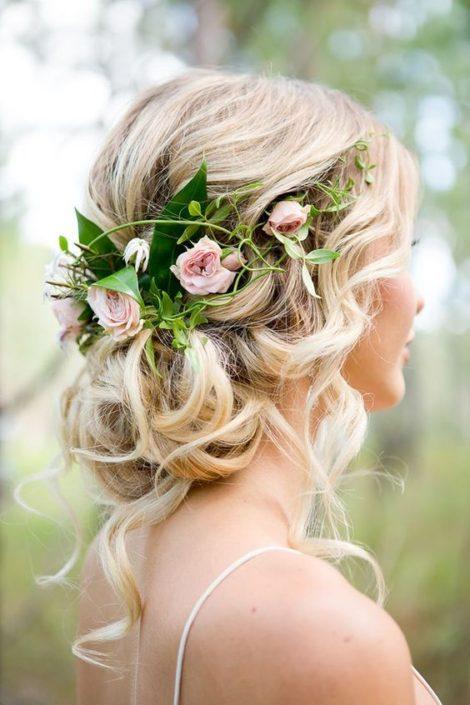 buscas ideas de peinados para bodas sencillos de hacer para tu gran da moos