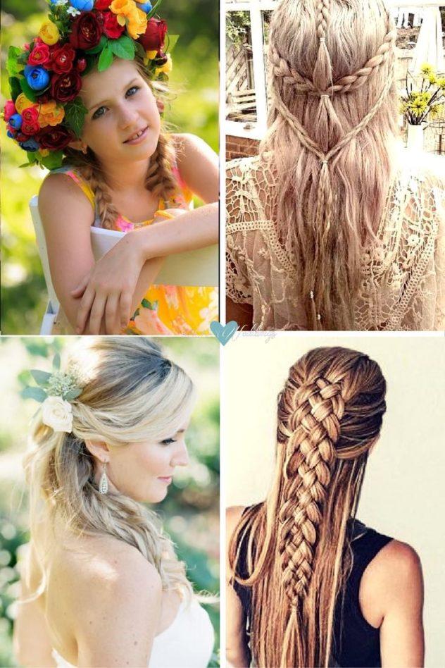 Peinados de novia vintage, boho y glam ¿Cómo se diferencian? | Abajo izquierda crédito de fotografia: Clary Pfeiffer
