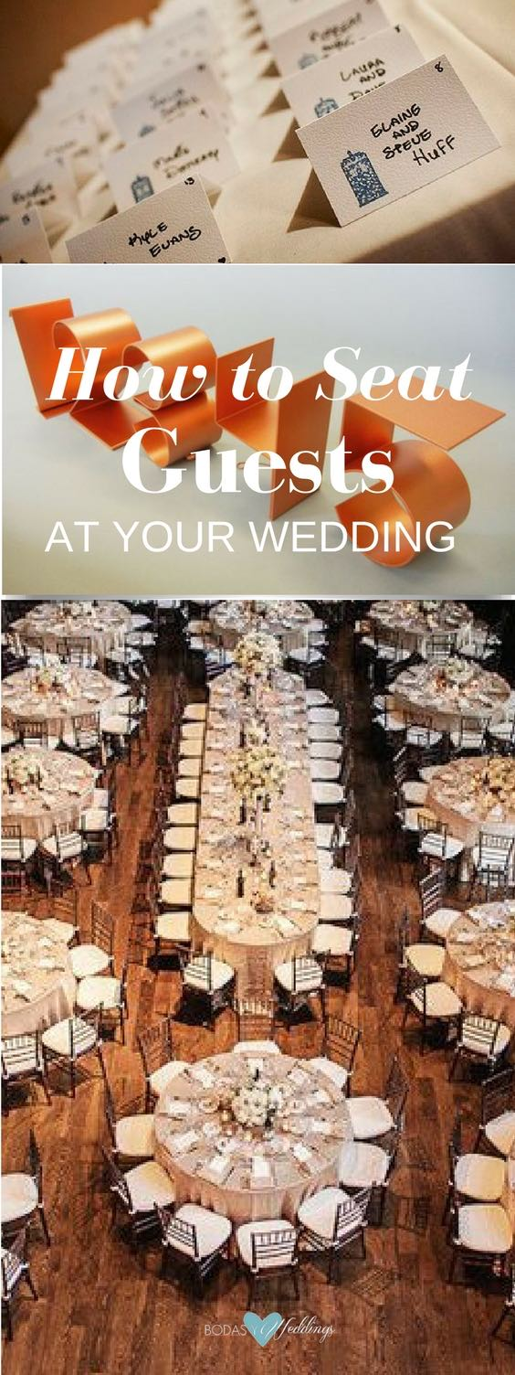 Wedding reception seating: how to seat guests for a lively celebration.