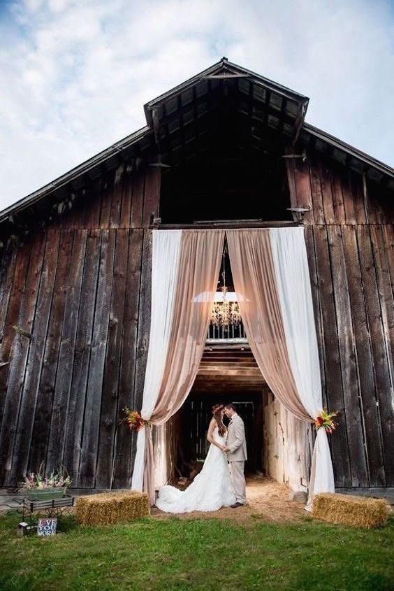 Have you considered a barn wedding?