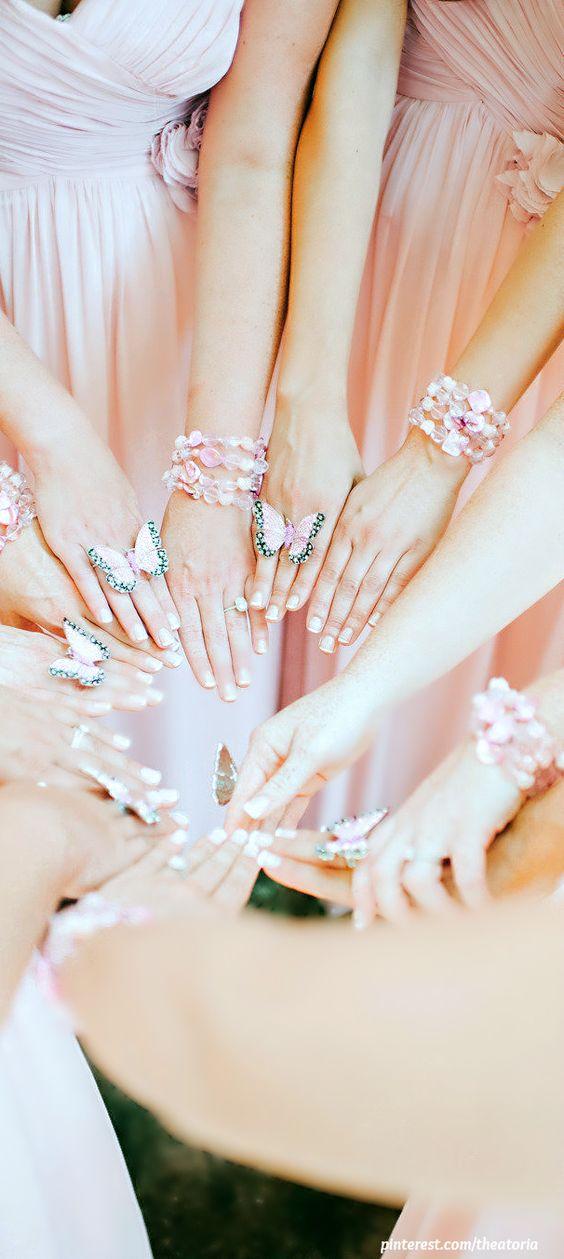 Bridesmaids...How pretty!