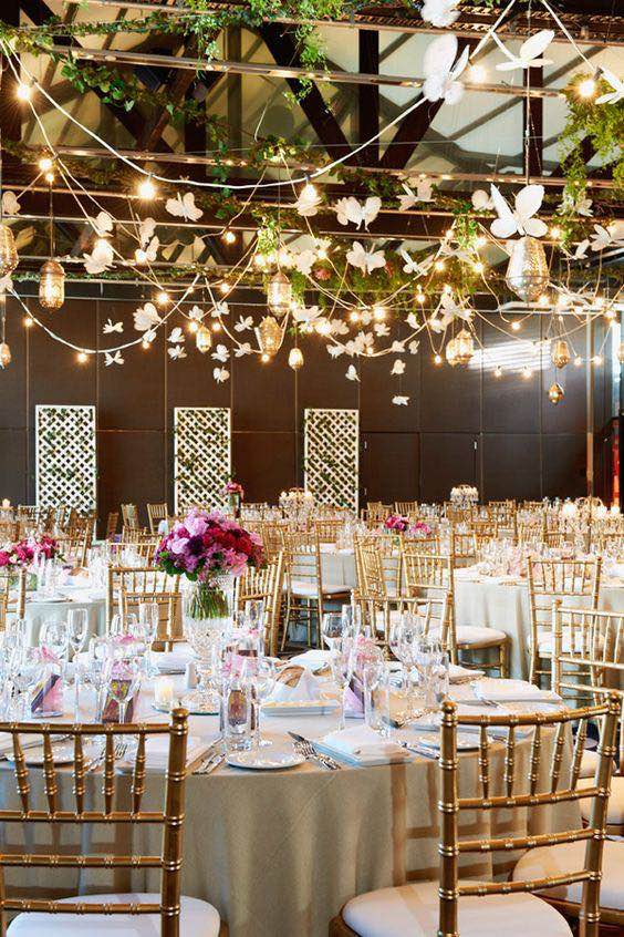 Butterfly wedding ideas that will make your heart skip a beat for Wedding party decorations