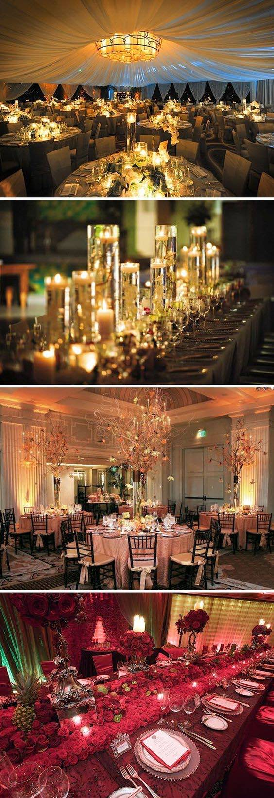 How to choose your wedding style: How about an elegant wedding decor?