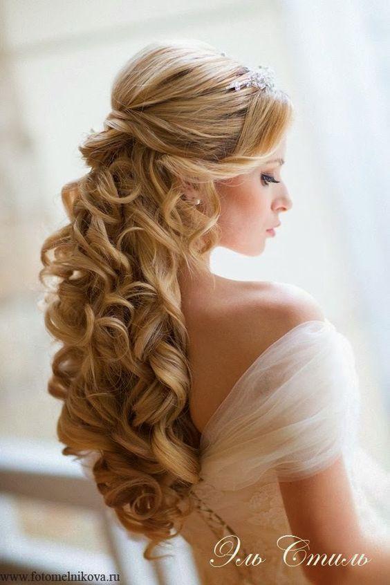 Resultado de imagen de peinado novia