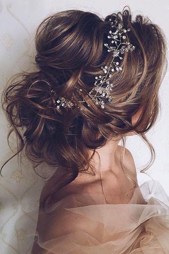 Los peinados recogidos mas románticos.