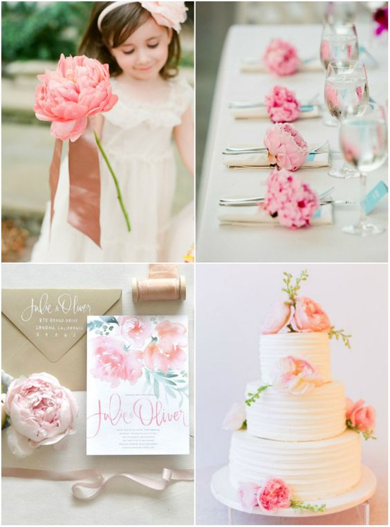 Pink florals wedding style. How to choose your wedding style: Remember previous weddings