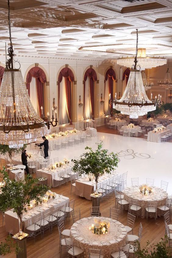 Wedding reception seating how to seat guests for a for Wedding reception room decoration ideas
