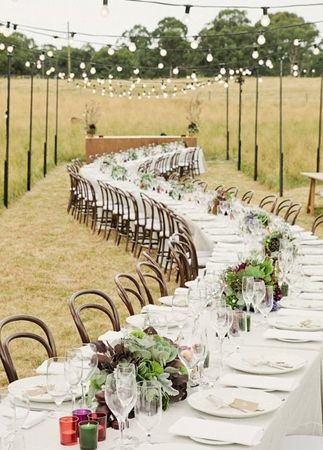 Wow-za! Unexpected wedding reception seating ideas.