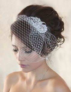 Birdcage veils. Want to wear a wedding veil, but stumped on what style is right for you? Read our wedding veils guide to lengths and get the pros and cons.