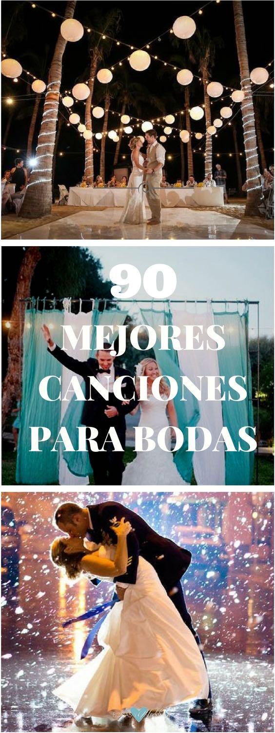 Las 90 mejores canciones para bodas para una fiesta con mucho swing. Canciones para bodas ¡que te harán bailar toda la noche!