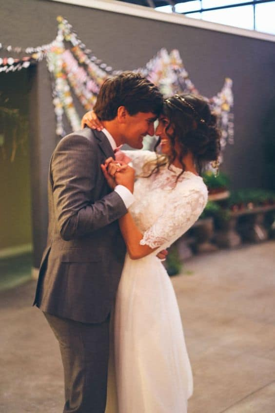 Canciones para bodas que te emocionarán. Fotografía: Mandi Nelson Photography
