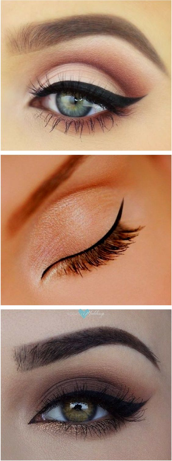 Cat eye makeup tutorials. Master cat eye makeup with these foolproof hacks that ensure you'll get perfectly lined lids every time.