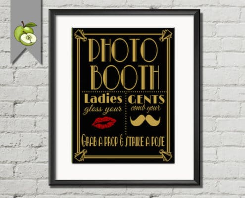 Photo Booth Art Deco