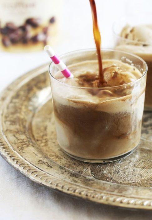 Crea tus propias recetas de café o cópiate esta de Stout & Coffee Ice Cream float.