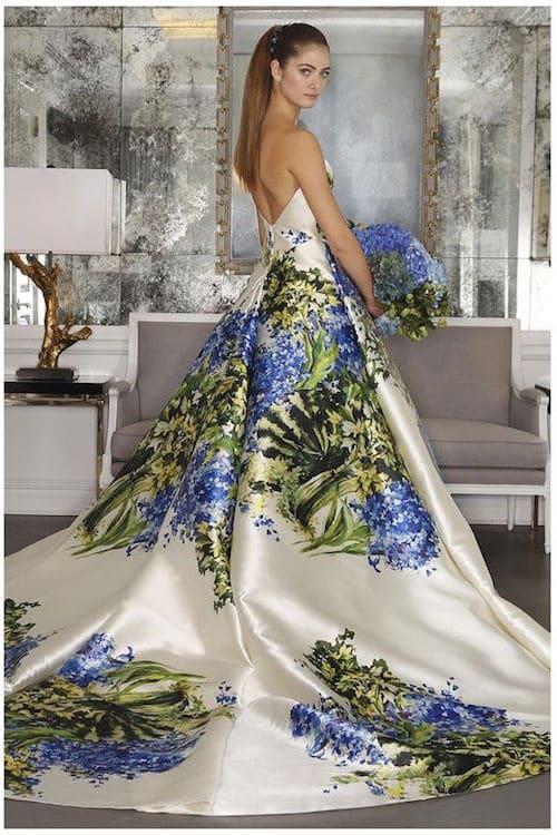 Vestido de la colección de Romona Keveza Luxe Bridal Collection.