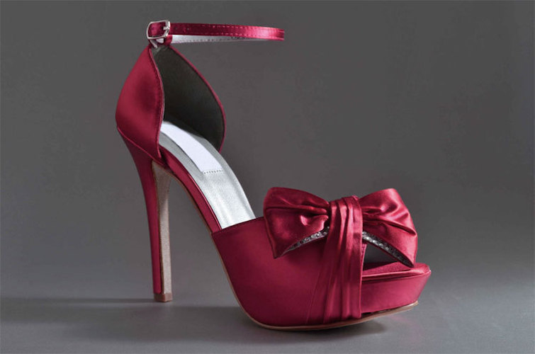 Wedding Shoes Apple Red