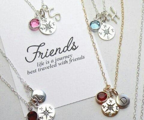 Adorable friendship necklaces and charms personalized