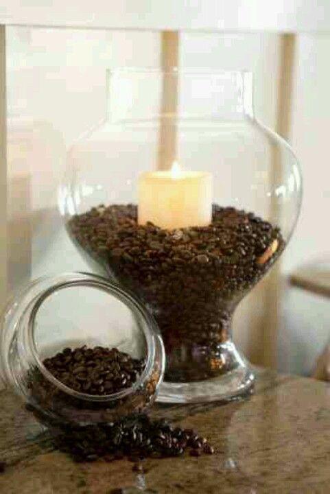 Como armar un coffee bar de bodas que huela intensamente a café. ;)