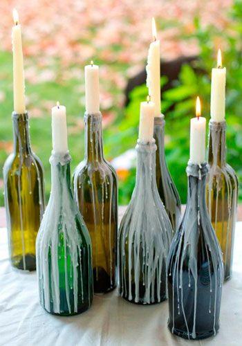 Simple y bohemia decoración para bodas gitanas.