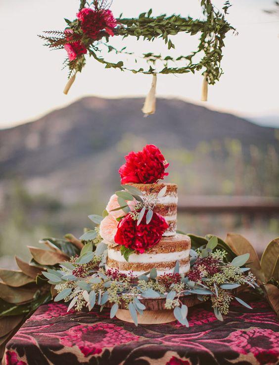 Inspiración para bodas gitanas. Fotografía: Wild Whim Design + Photography.