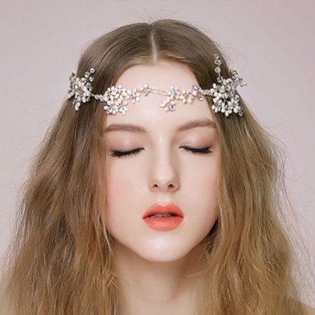 pearl bridal headband