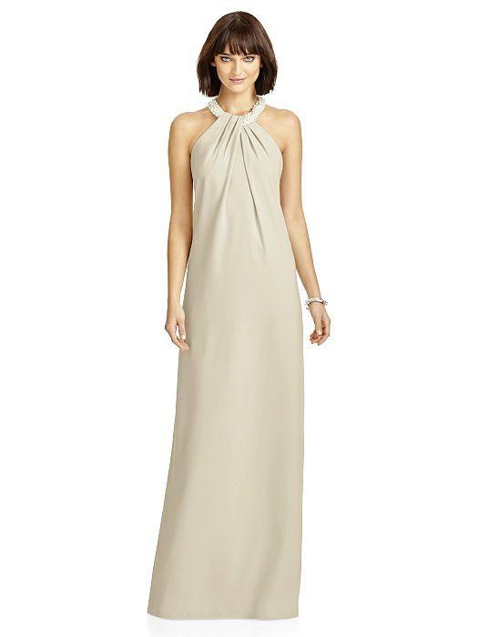 vestido damas de honor en palomino