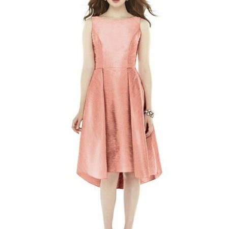 vestido madrina rosa