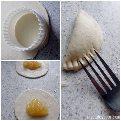 Líbrate de la fuente de queso y galletas y sirve algo clásico pero delicioso. Empanadas de piña de pizcadesabor.