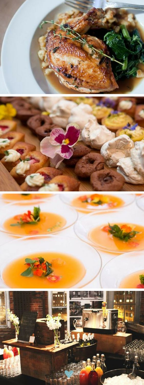 Here, top New York City caterer Cleaverco offers dish ideas for all seasons. Green wedding menus.