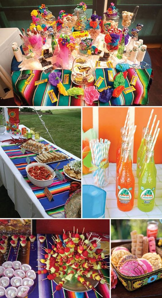 Mexican themed-wedding food ideas. What better occasion to pop open that bottle of delicious tequila than your big day? Your guests are guaranteed to have a good time (we are not responsible for how good their next morning is though!)