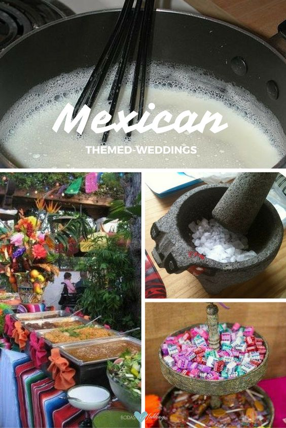 Bodas mexicanas: El atole es tan mexicano como los tamales y ¡cómo se antojan juntos! Mesa de dulces con dulces tradicionales mexicanos.