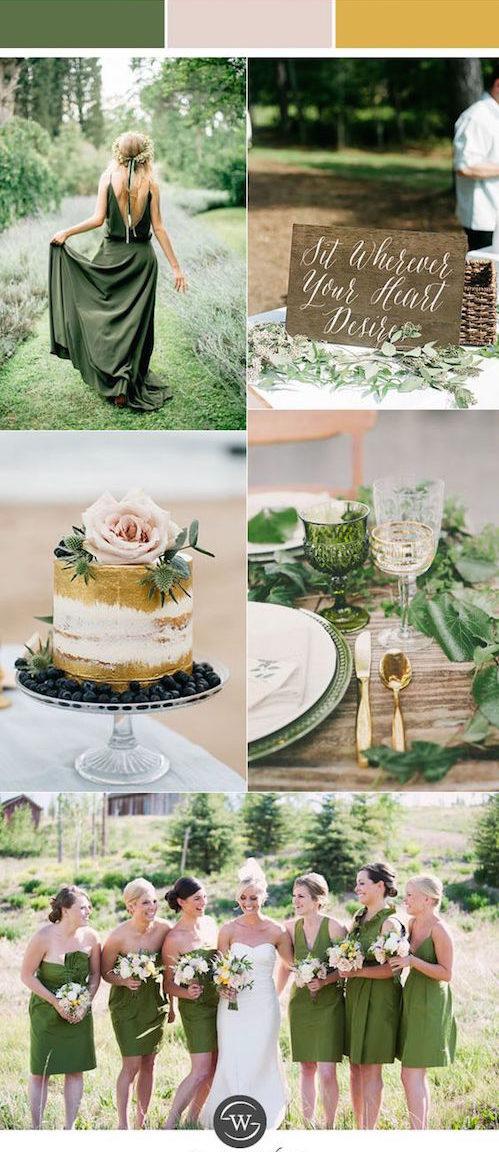 Es emocionante cuando Pantone lanza sus colores de bodas para la siguiente temporada. Muchos predicen al verde kale como el color del año para el 2017. ¿Que opinas?