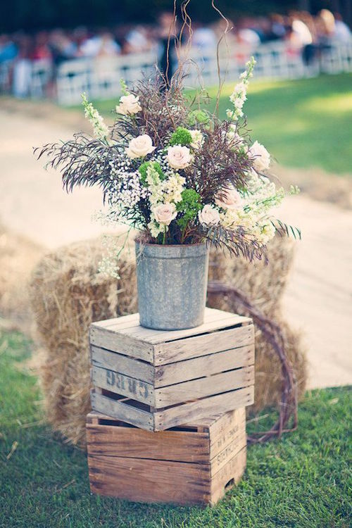 Boda en Freeman's Farm. Fotografía: Three Nails Photography.