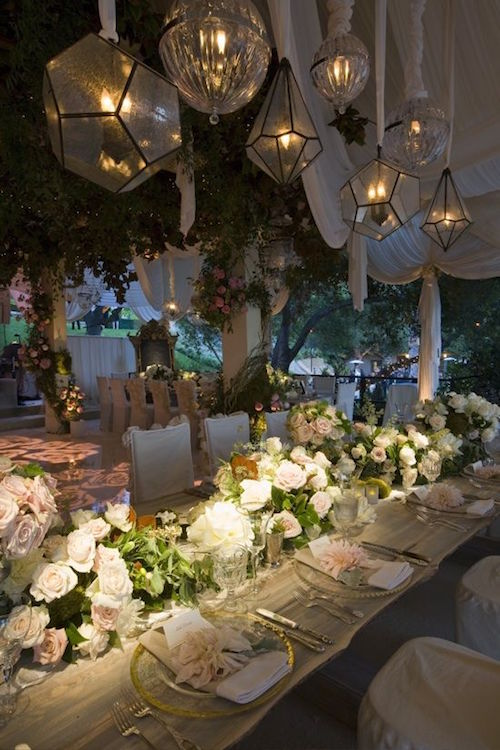 Dress up your tables with fabulous floral wedding centerpieces.